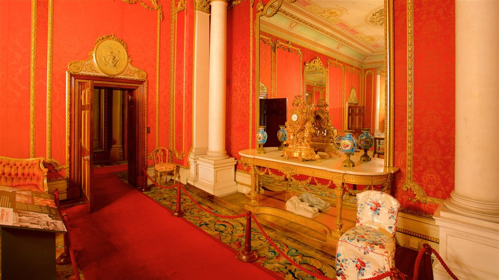 Brodsworth Hall showing heritage elements and interior views