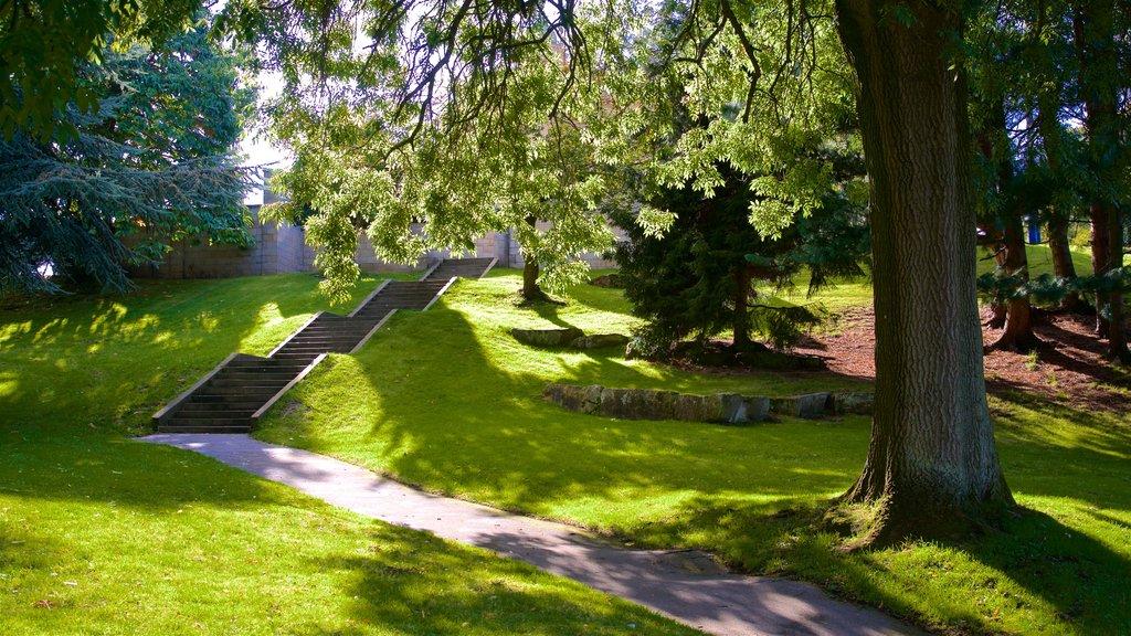 Parque Lister que incluye un jardín