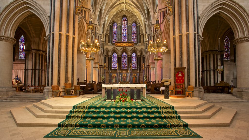 Saint John the Baptist featuring heritage elements, a church or cathedral and interior views