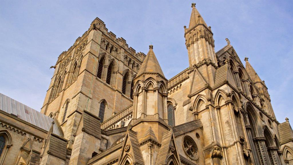 Saint John the Baptist featuring heritage architecture