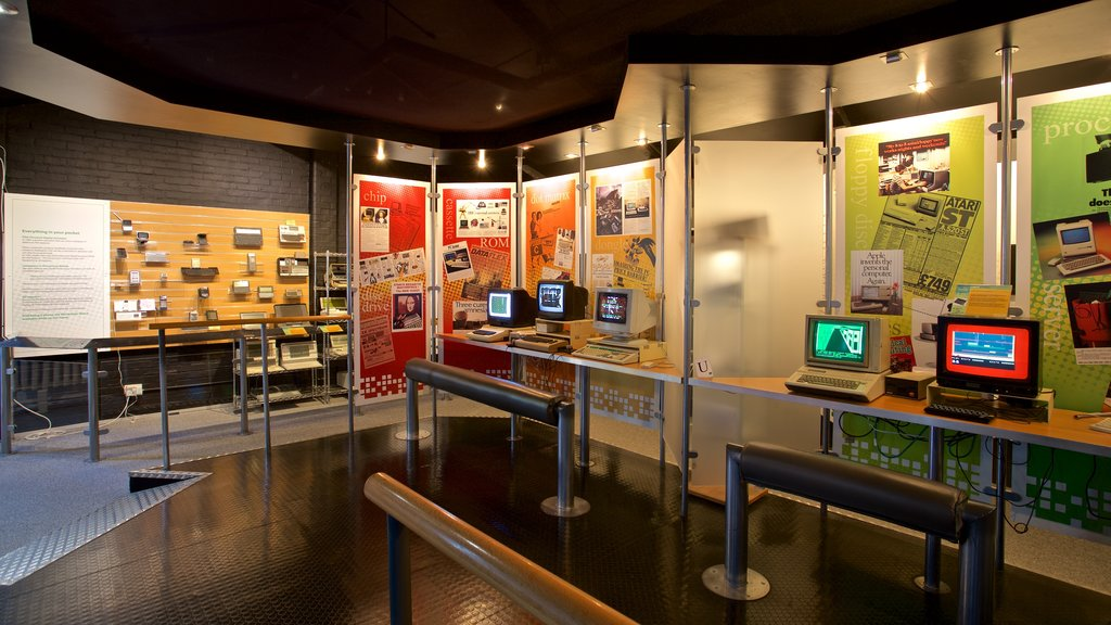 The National Museum of Computing which includes interior views