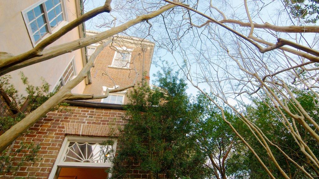 Nathaniel Russell House mostrando uma casa