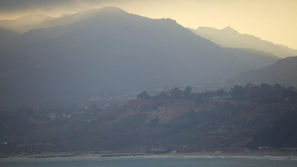 Santa Monica which includes mountains, landscape views and general coastal views