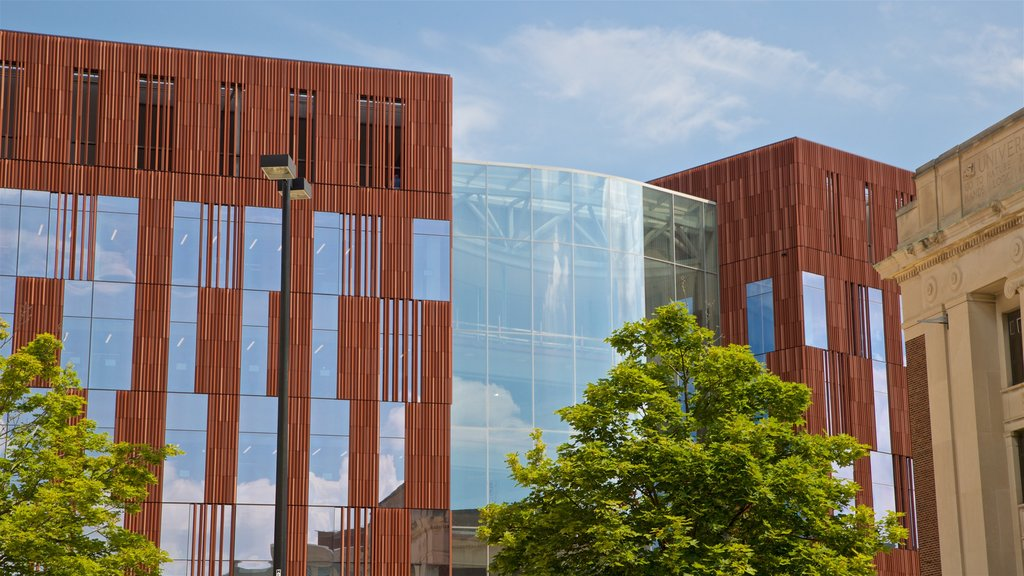 University of Michigan featuring modern architecture