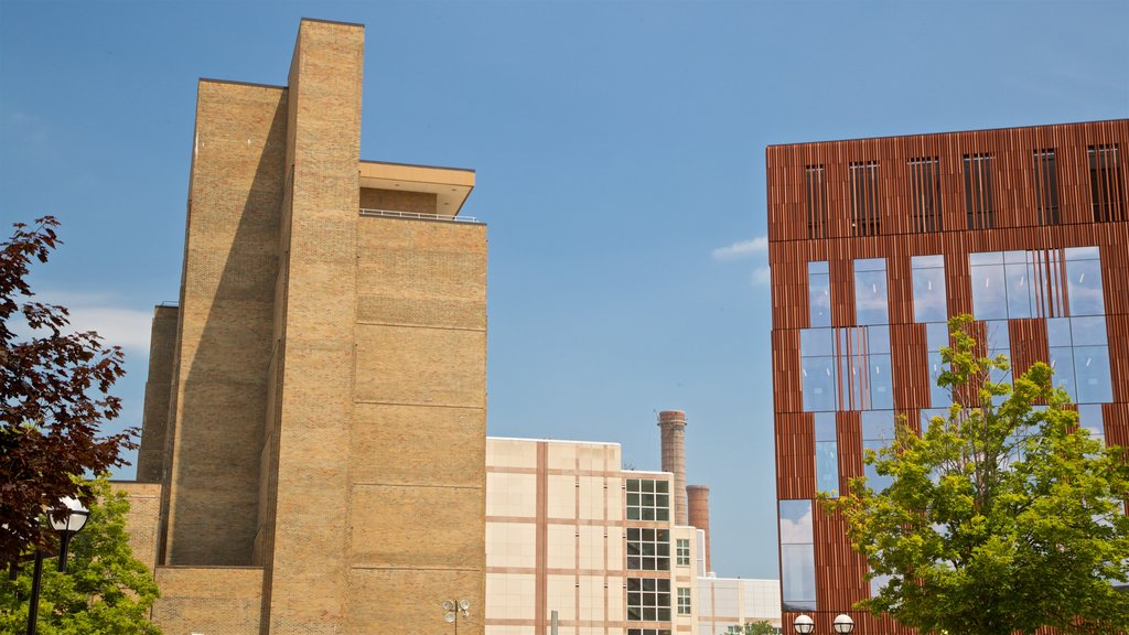 University of Michigan showing modern architecture