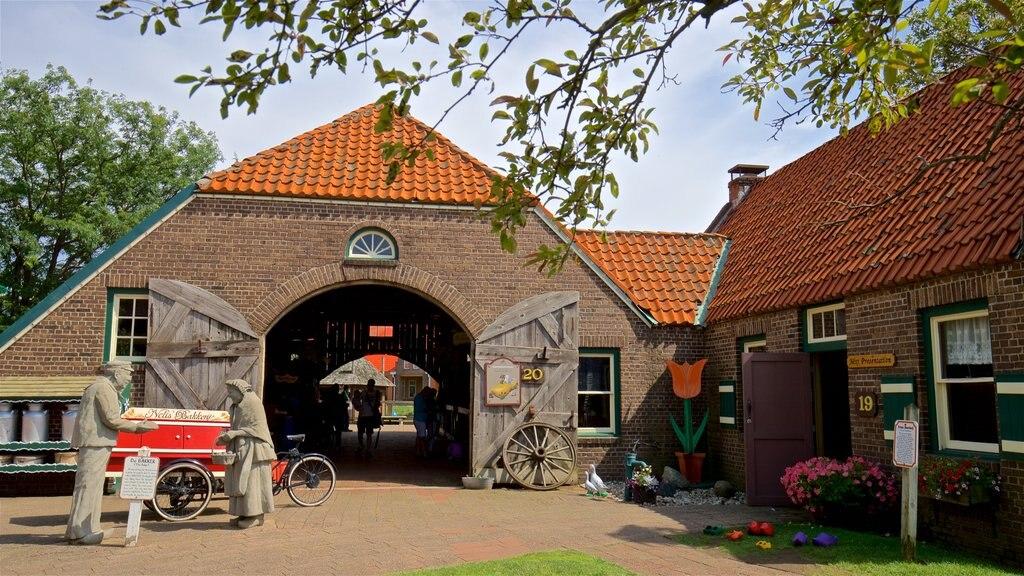 Dutch Village which includes outdoor art