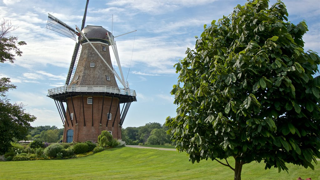 Windmill Island which includes a windmill and a park