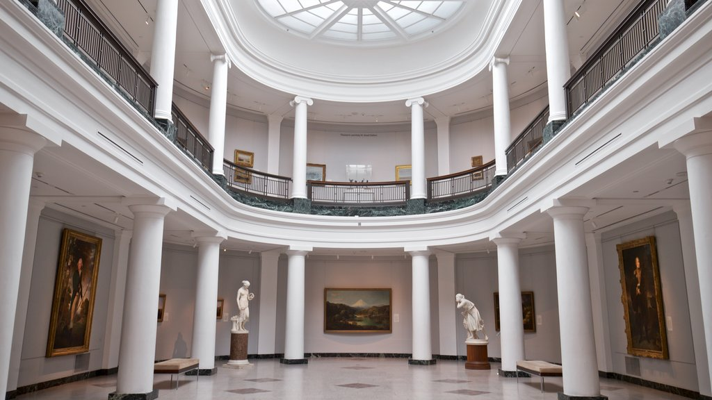 University of Michigan Museum of Art showing art and interior views