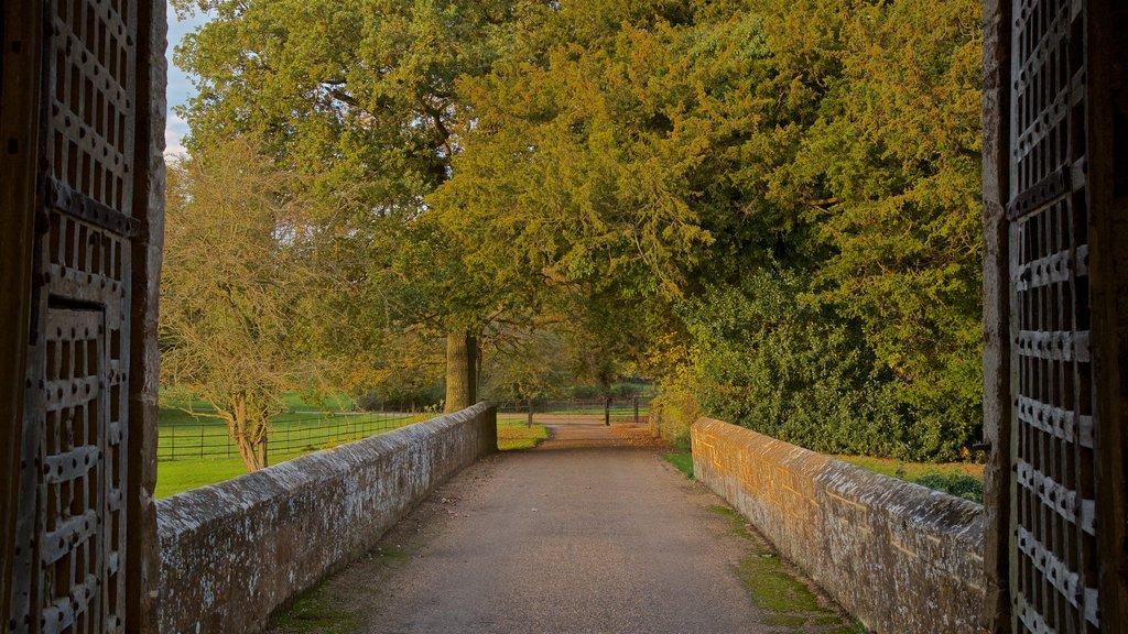 Broughton Castle which includes a garden