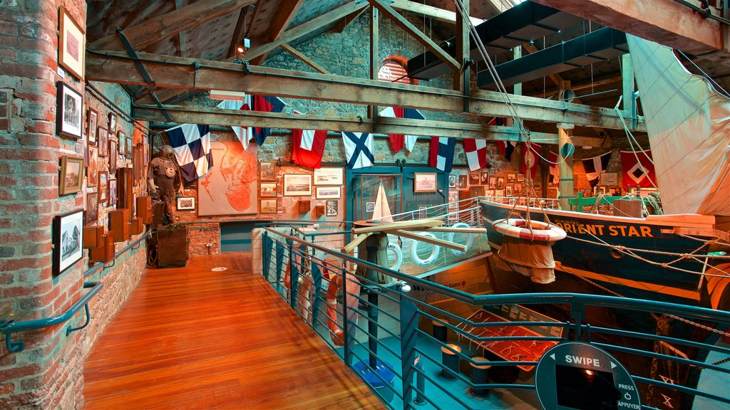 Maritime Museum showing interior views