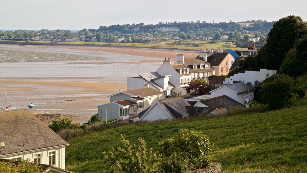 Gorey featuring landscape views and a coastal town