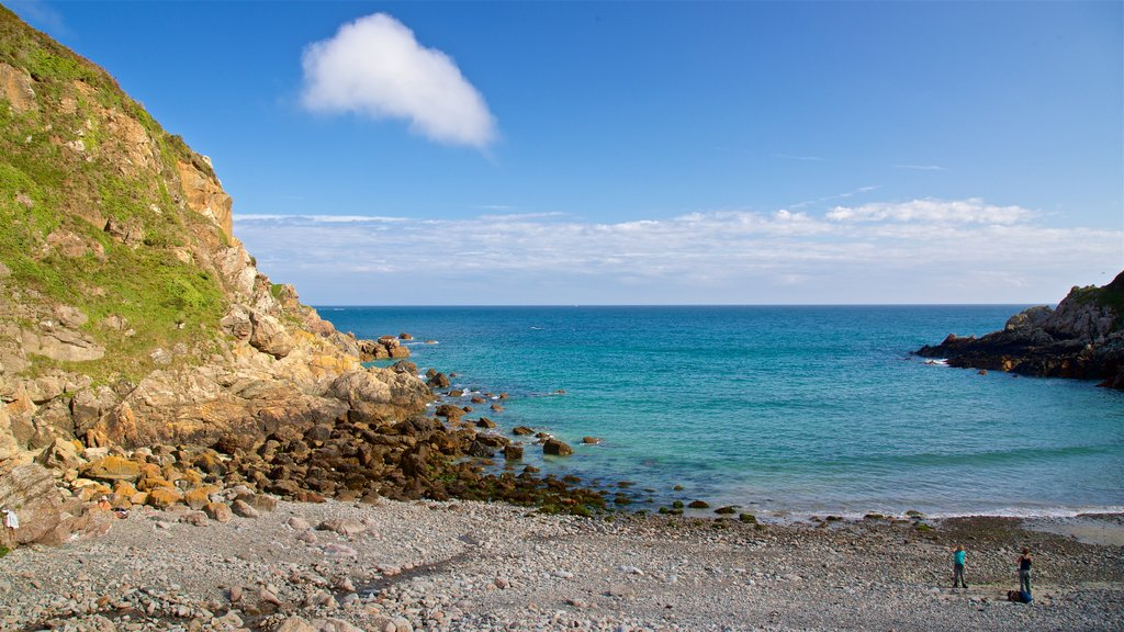 Petit Bot Bay featuring a pebble beach and general coastal views as well as a couple