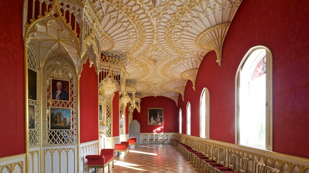 Strawberry Hill which includes interior views and heritage elements