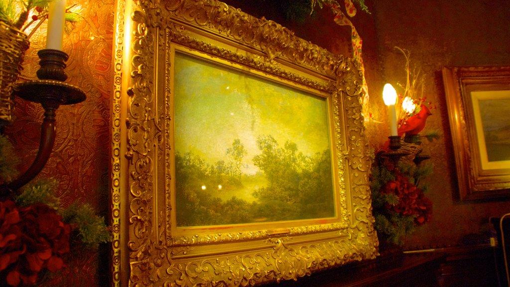 Charles Allis Art Museum showing interior views