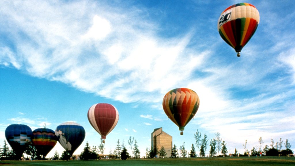 Traverse City featuring ballooning