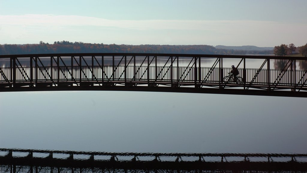 Traverse City which includes a bridge and a river or creek