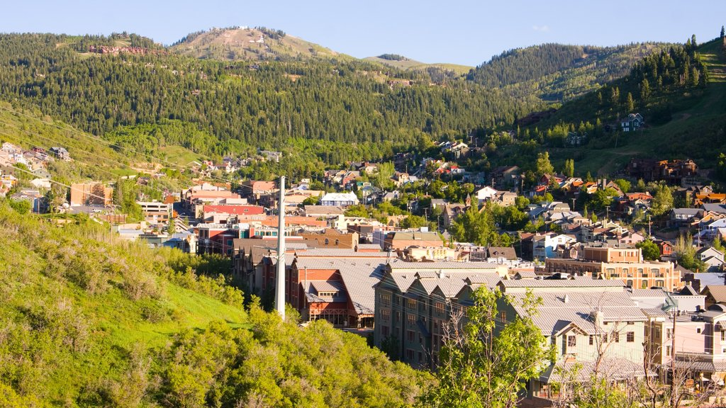 Park City showing a small town or village