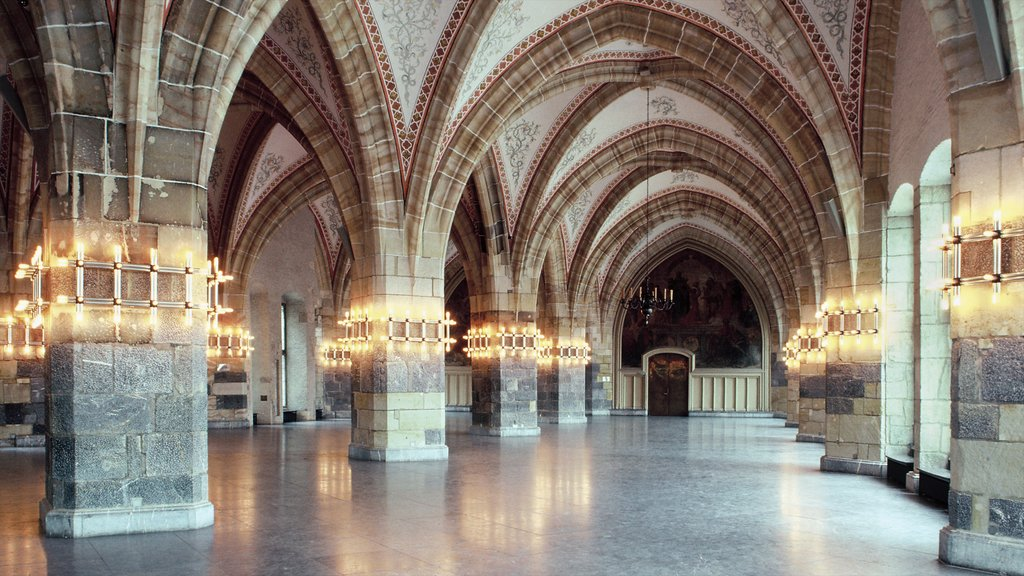 North Rhine-Westphalia featuring heritage architecture, a church or cathedral and interior views