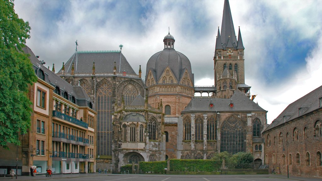 North Rhine-Westphalia showing a church or cathedral and heritage architecture