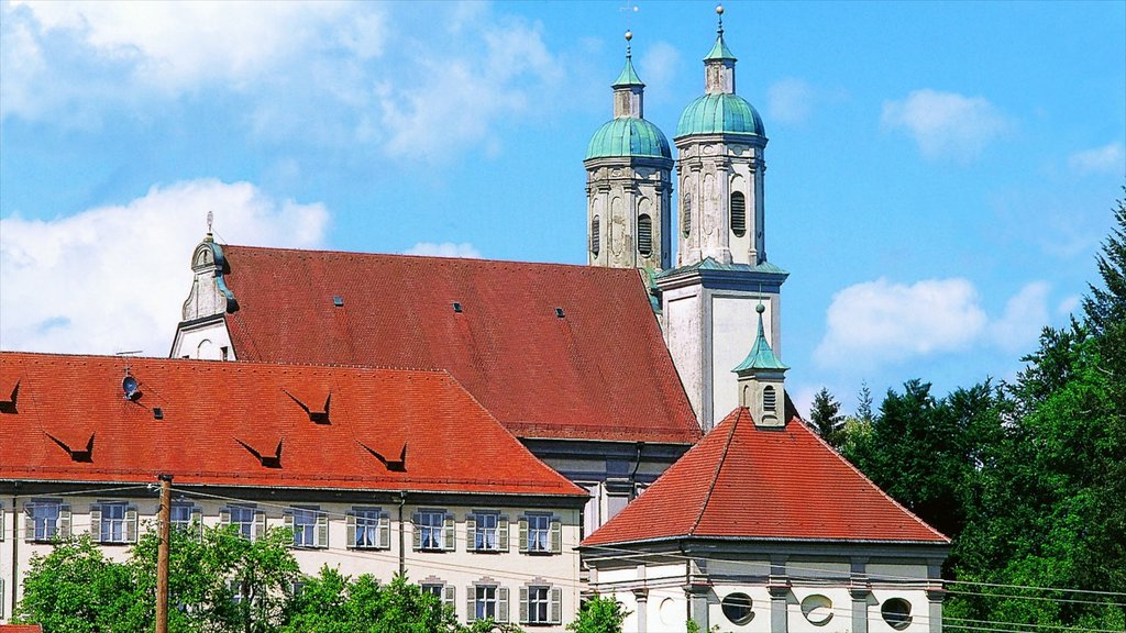 Augsburg featuring heritage architecture and a church or cathedral