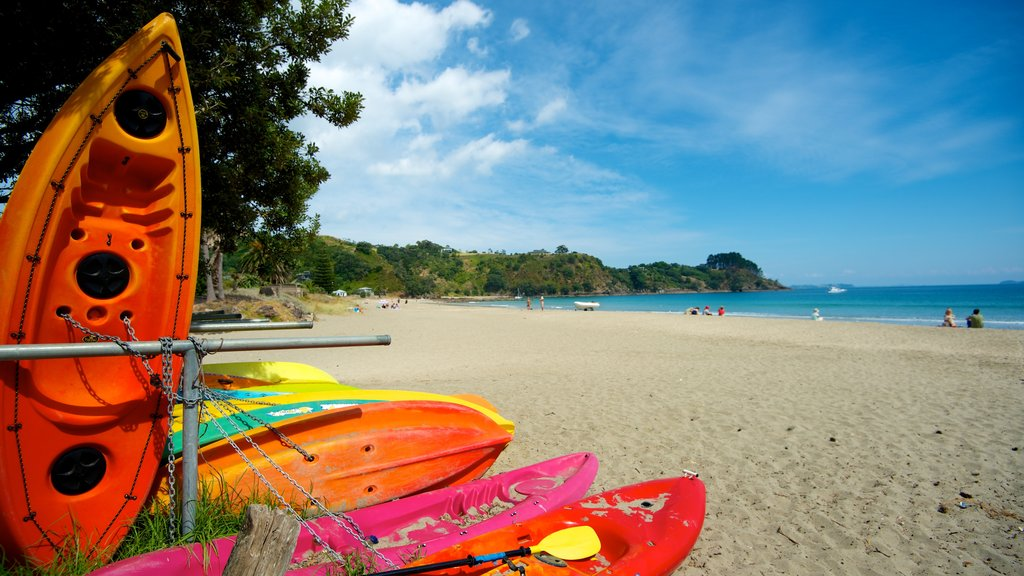 Palm Beach showing kayaking or canoeing, general coastal views and a sandy beach