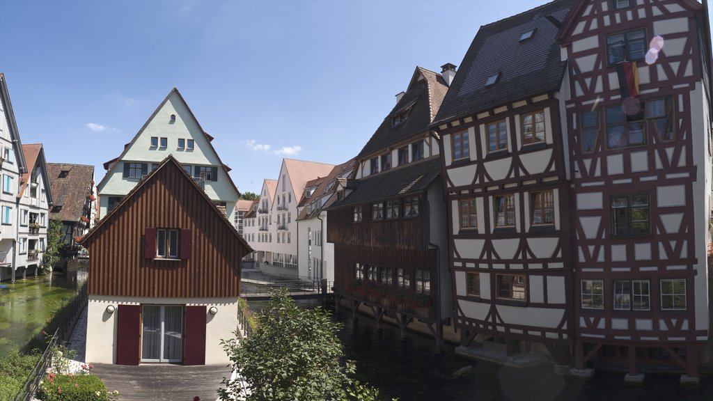 Ulm featuring a house and heritage architecture
