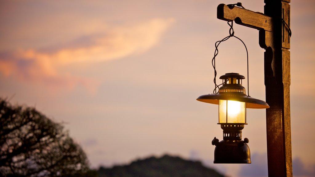Langkawi showing a sunset