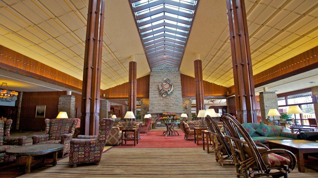 Jasper which includes interior views