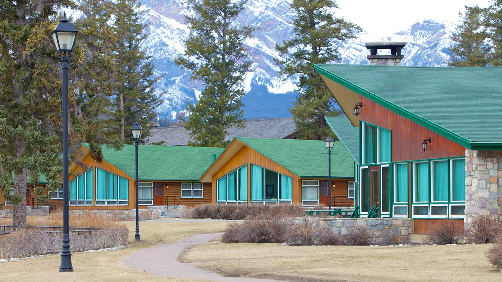 Fairmont Jasper Park Lodge Golf Course featuring a small town or village