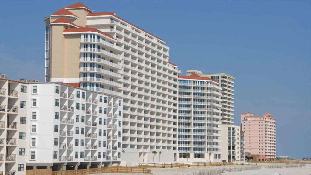 Orange Beach featuring modern architecture