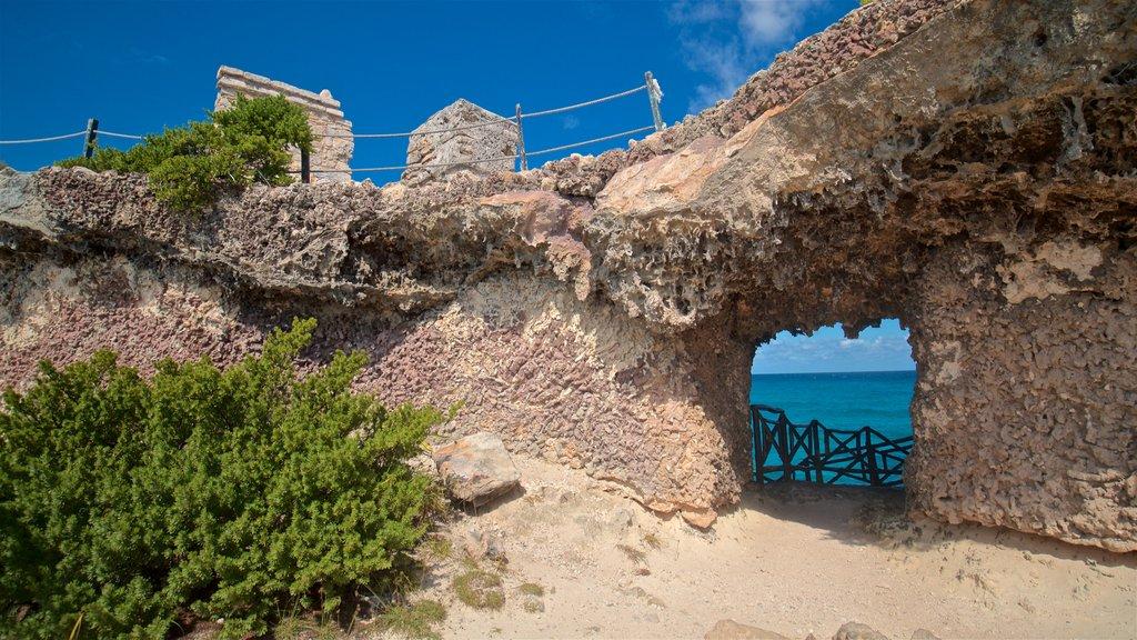 Isla Mujeres showing general coastal views