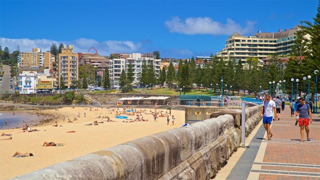 Coogee Beach featuring a coastal town, general coastal views and a beach