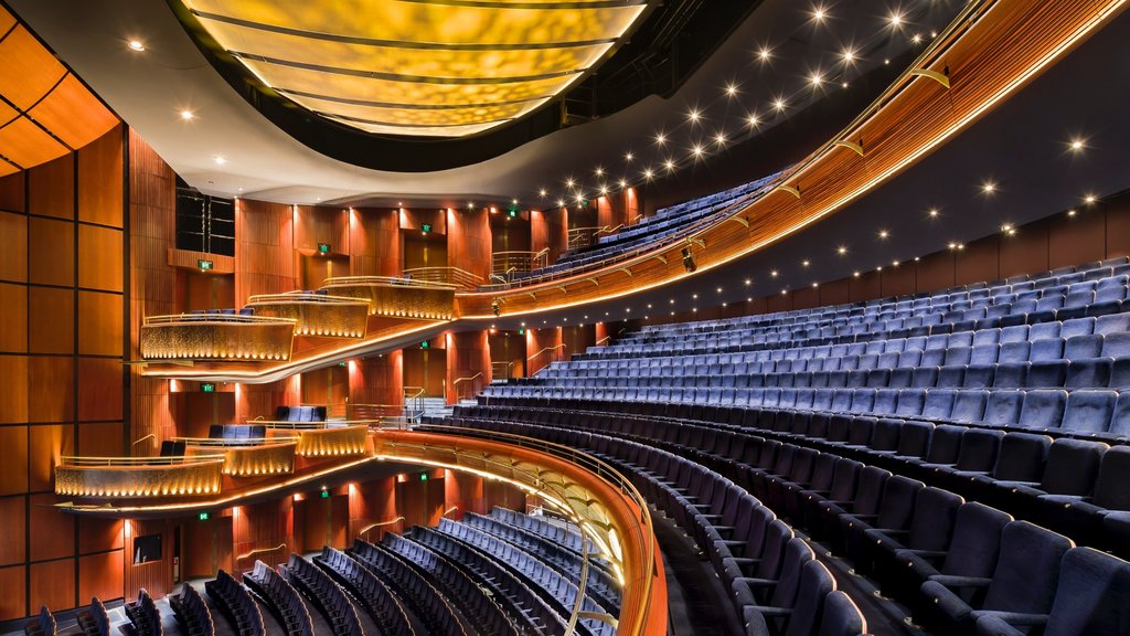 Sydney Lyric Theatre showing theater scenes and interior views