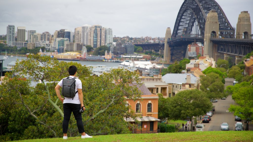 Millers Point which includes a garden as well as an individual male