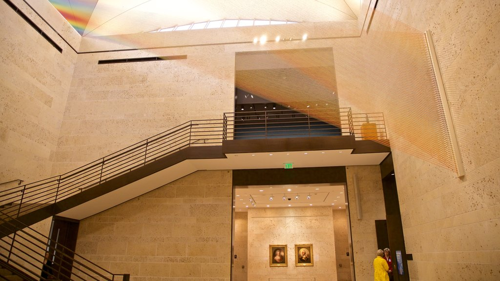 Amon Carter Museum featuring interior views