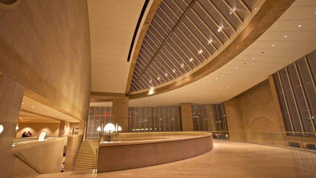 Morton H. Meyerson Symphony Center showing interior views