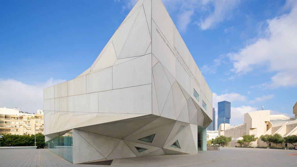 Tel Aviv Museum of Art showing modern architecture
