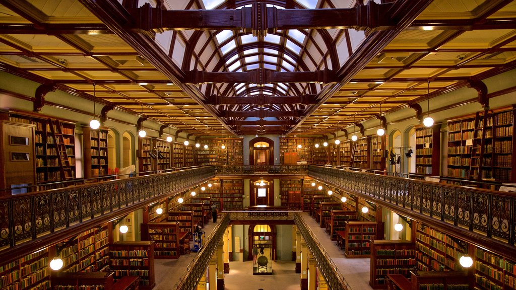 State Library of South Australia which includes heritage elements and interior views