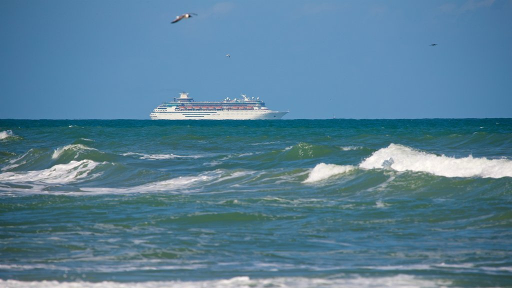 Cocoa Beach featuring cruising, general coastal views and waves