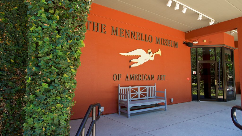 Mennello Museum of American Art showing signage