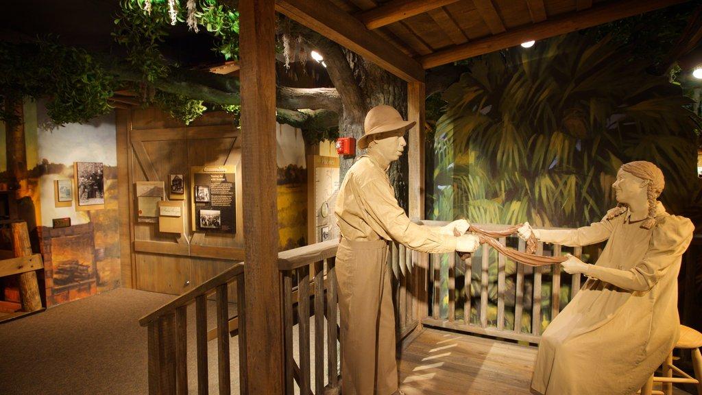 Orange County Regional History Center featuring interior views and general coastal views