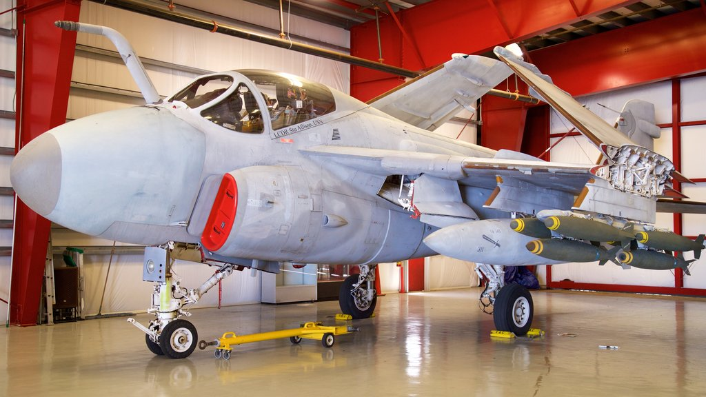 Valiant Air Command Warbird Museum which includes military items and interior views