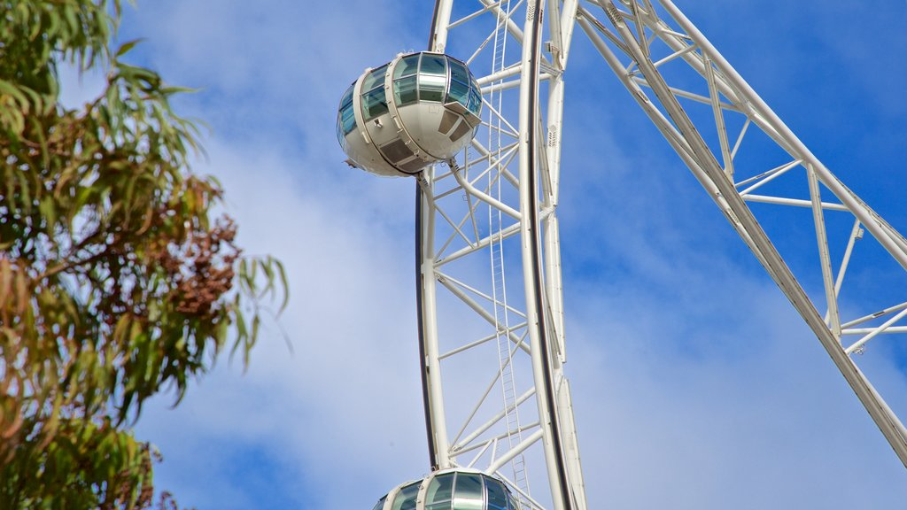 Melbourne Star Observation Wheel which includes views