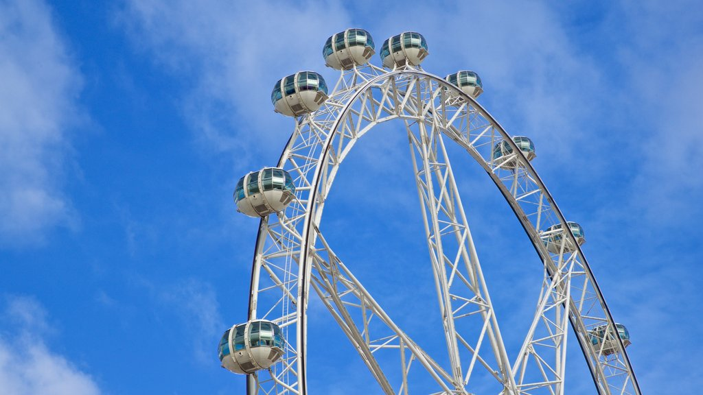 Melbourne Star Observation Wheel featuring views