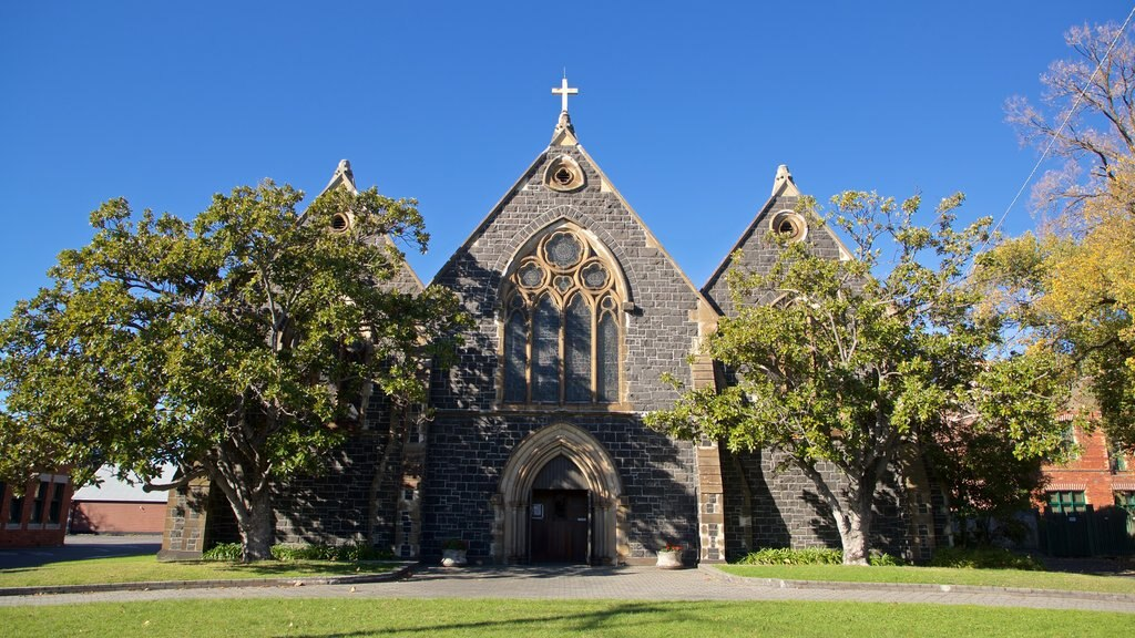 St Kilda which includes a church or cathedral