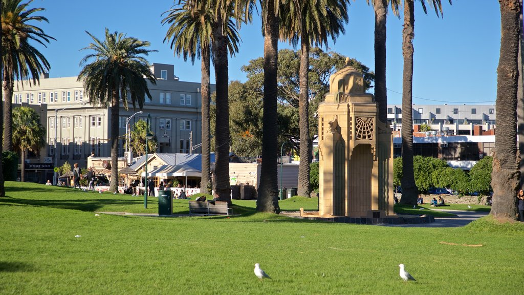 St Kilda which includes a garden and bird life
