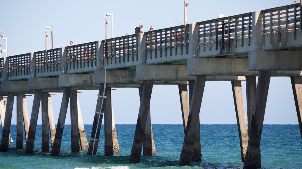 Dania Beach which includes general coastal views