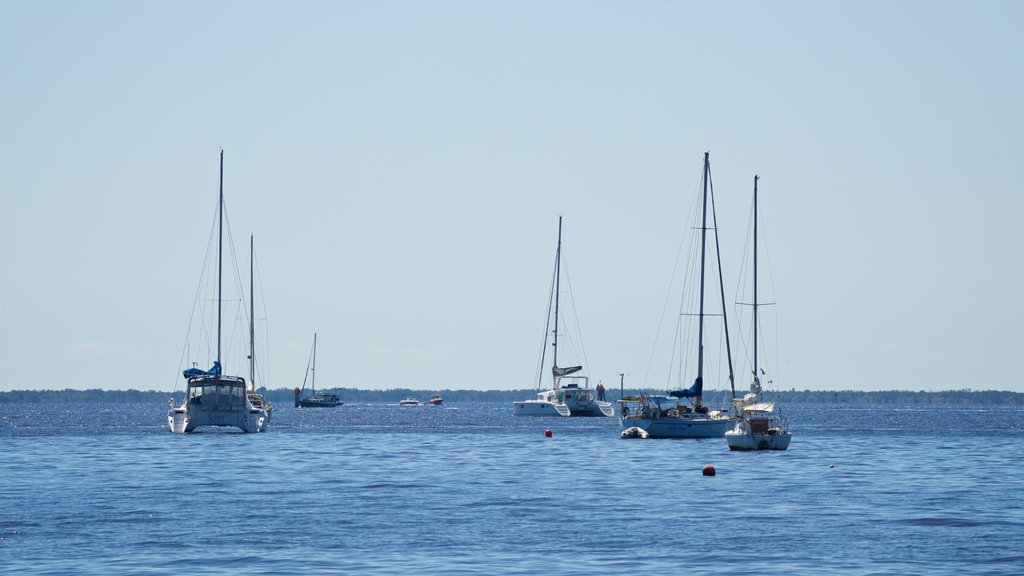 Punta Gorda which includes general coastal views and sailing