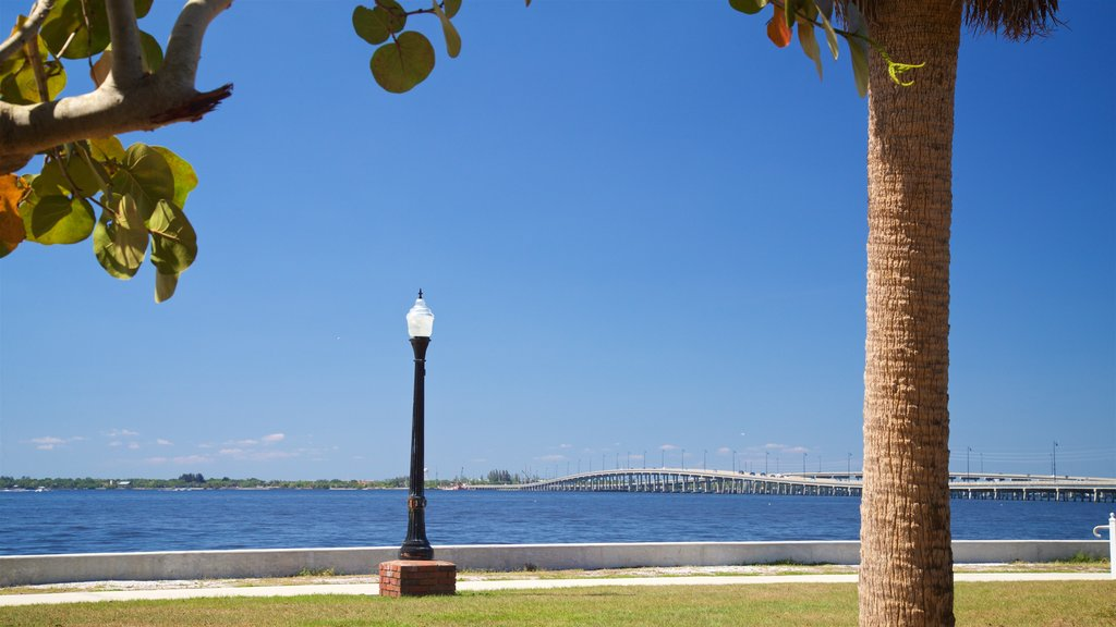 Punta Gorda featuring general coastal views and a garden