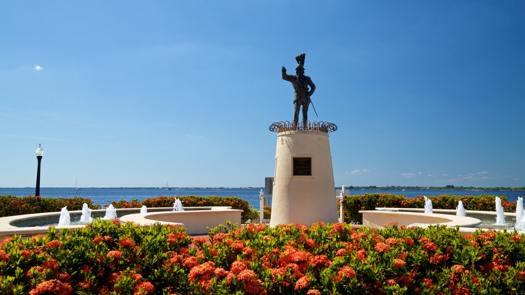 Punta Gorda which includes a park and flowers